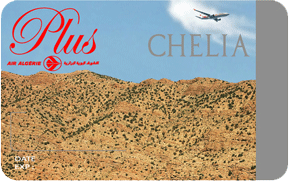 Air Algérie carte Chelia