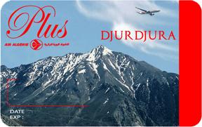 Air Algérie Carte Djurdjura