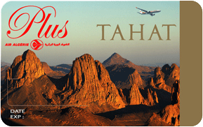 Air Algérie Carte Tahat